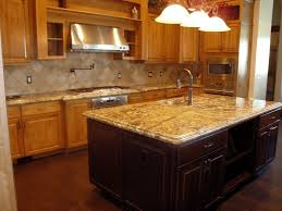 amusing granite island dining table picture good looking lighting for kitchen with having light brown finish cosy