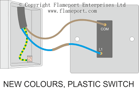 one way light switch wiring diagram  one way switched lighting    one way light switch wiring diagram