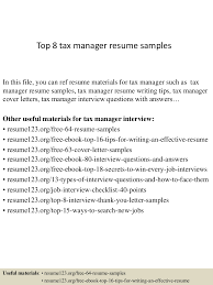 top8taxmanagerresumesamples 150331211145 conversion gate01 thumbnail 4 jpg cb 1427854349