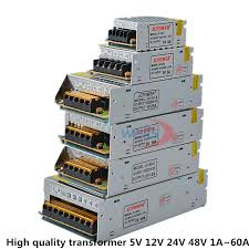 LED 5V <b>12V 24V</b> 48V Lighting <b>Switching Power Supply</b> AC 110V ...