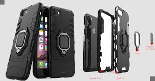 Luxury <b>Armor Shockproof Case For</b> Iphone 6S -Red » sajhashop