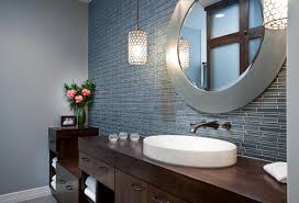funky bathroom lights:  bathroom makeover trends home clever