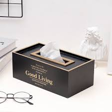 2019 <b>Nordic Minimalism</b> Iron <b>Tissue Box</b> Ornaments Creative Living ...