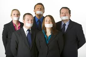 non compete and non disclosure agreement lawyers silenced business people mouths covered tape
