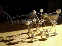Image result for marshmallow and toothpick structure