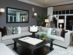 eclectic living room grey walls wood  trendy gray rooms modern living room