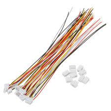 Excellway® <b>10 Sets</b> Mini Micro JST 1.5mm ZH 4-<b>Pin</b> Connector Plug ...
