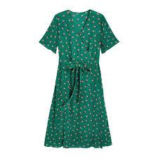 <b>Платье</b> с запахом <b>длинное с</b> цветочным принтом рисунок ...