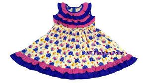 <b>Kids high quality</b> fashion <b>cotton</b> summer baby girl's dress cutting ...