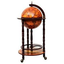 Shop Costway 36'' Wood <b>Globe Wine Bar Stand</b> 16th Century Italian ...