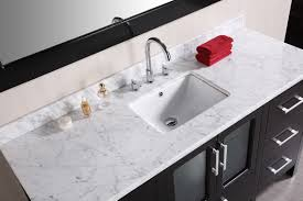 55 inch double sink bathroom vanity: clever design single sink bathroom vanity top with  tops  inch   in stock