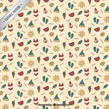 Free Vector | <b>Summer pattern</b>