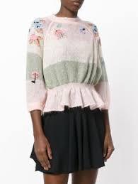 Red Valentino <b>свитер</b> с вышивкой птиц | Knitwear | <b>Свитер</b> ...
