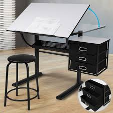 with Comfortable Stool, 3 Drawers & <b>Tiltable Tabletop</b> - Architecture ...