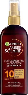 "Garnier <b>Солнцезащитное масло</b>-спрей для загара ""Ambre Solaire ..."