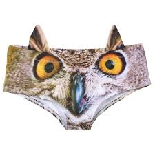 <b>Women's 3D Animal</b> Face Undies: Underwear with Ears | 3 Reviews ...