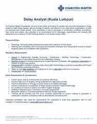 charlton martin group linkedin career opportunity delay analyst kuala lumpur interested candidates who meet the requirements please email your application cv and indication of