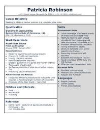 cashier resume templates     samples in wordshoe store cashier resume