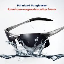 polarized <b>Men's</b> sunglasses <b>aluminum</b>-<b>magnesium alloy</b> car driving ...