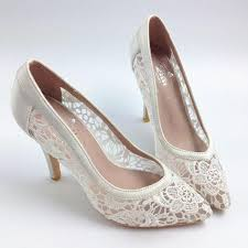<b>Sexy See Through High Heels</b> Pointed Toe Lace Wedding Bridal ...