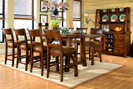 dining room pub style sets: dining table with bench and upholstered chairs hic design iq