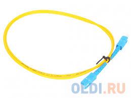 Оптический шнур <b>Vcom</b>, <b>SC</b>-<b>SC</b>,<b>UPC</b>, одномодовый,Simplex ...