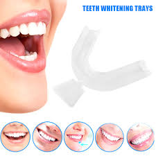 SK <b>2Pcs Food Grade Silicone</b> Thermoform Teeth Whitening Tray ...