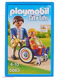 Детская клиника: Ребенок в коляске Playmobil 2765016 купить за ...
