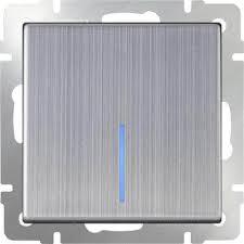 <b>Выключатель Werkel</b> 4690389059216 Глянцевый никель по цене ...