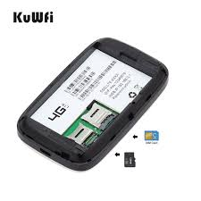 <b>KuWfi Unlocked</b> 150Mbps 3G <b>4G LTE</b> Wifi Router Mobile Wifi ...