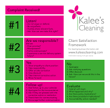 kalee s cleaning service house cleaning service client service framework