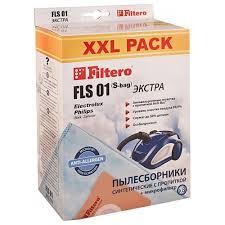 <b>Пылесборник Filtero FLS 01</b> S-bag XXL Pack Extra (8шт): купить ...