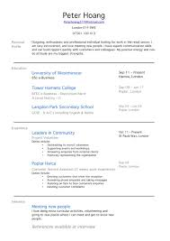 resume template for no work experience anuvrat info 650841 resume templates for college students no work