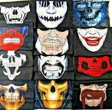 Skull joker Mask Adult Dracula <b>scorpion vampire</b> Halloween ...