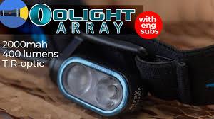 Обзор налобника <b>Olight Array</b> | 400 люмен, XP-G3, 2000mah ...