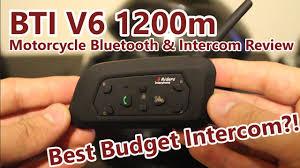 BTI <b>V6</b> 1200m <b>Bluetooth</b> & Intercom Review - YouTube
