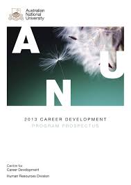 anu hr practitioner s career development guide by anu centre for anu career development program prospectus