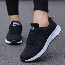 <b>Women's Vulcanize Shoes</b> Low Heels Sports Running <b>Shoes</b> ...