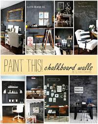 chalkboard walls in office work space ideas final chalkboard paint office