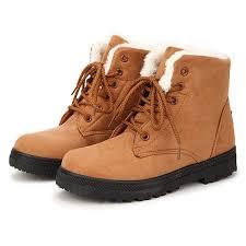 Designer <b>Women Keep Warm</b> Suede <b>Winter</b> Flat Ankle <b>Snow</b> Boots ...