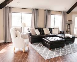 Living Room Brown Sofa 25 Best Ideas About Black Couch Decor On Pinterest Black Sofa