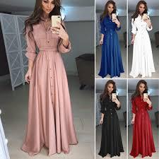 <b>2019 New arrival Elegant</b> Womens Boho Long Sleeve V neck High ...