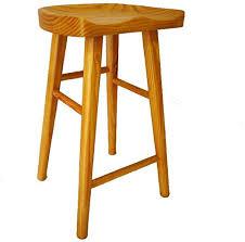 BYX-Chair Nordic Log Bar Stool Bar Stool Home Solid ... - Amazon.com