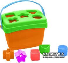 Развивающая игрушка-<b>сортер</b> Весёлые фигурки <b>Mommy Love</b>