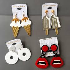 <b>Korean Sweet</b> Girl Charming Fashion <b>Jewelry Earrings</b> for women ...
