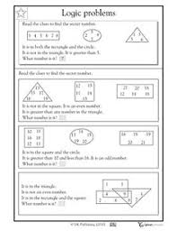 Critical thinking skills worksheets can help your children develop logic  comprehension and problem solving skills Out In Left Field