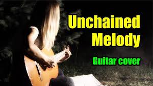 Unchained Melody <b>OST Ghost</b> (Из к/ф Призрак) | На гитаре + ...