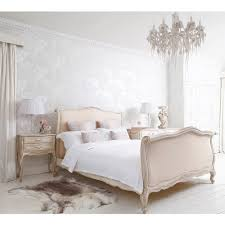 feminine bedroom furniture bed: delphine french upholstered bed king romantic french bed and french bedrooms