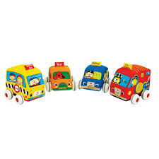 Машинки мягкие с инерционным механизмом набор 4 шт K's kids ...