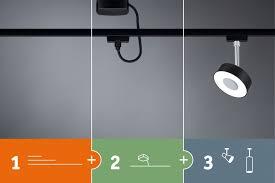 Светодиодный <b>светильник</b> Cube <b>Paulmann</b> URail 8Вт 230В ...